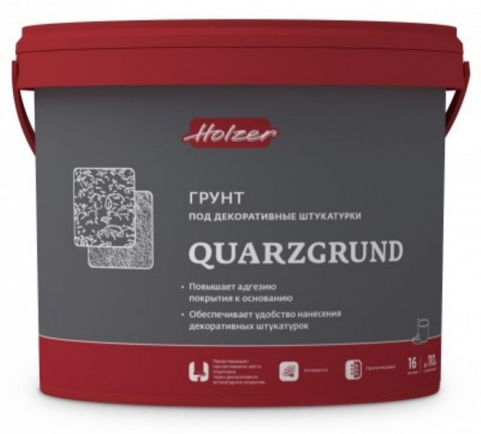holzer quarzgrund Хольцер Кварцгрунт 30 kg 150 - 250м2